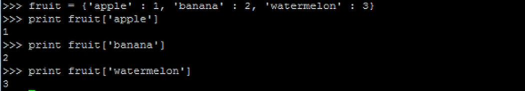 Python - 딕셔너리 (Dictionary)