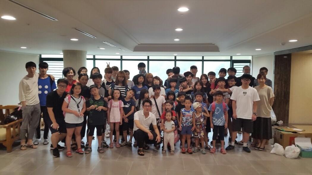 7월 27일부터 29일까지 2박3일 서울침례교회와 수련회를 다녀왔어요