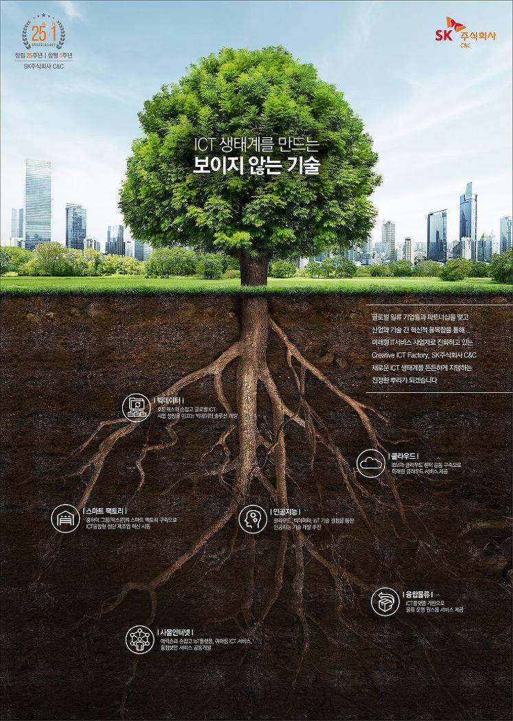 [SK주식회사 C&C 기업광고] ICT 생태계를 만드는 보이지 않는 기술