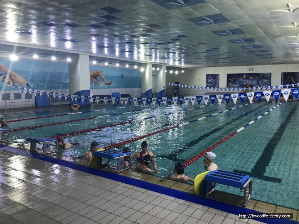 부산 만덕 실내수영장 - 현대레포션(현대스포렉스) 스포츠센터
