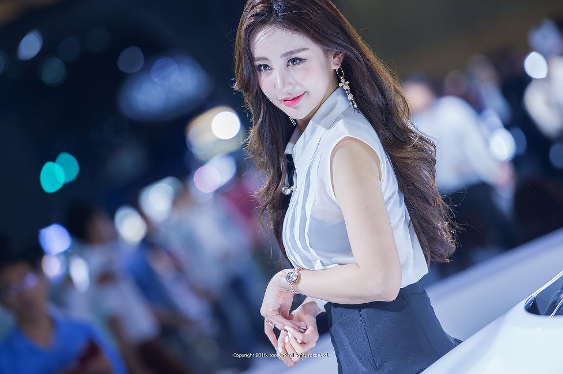 레이싱 모델, 김미진: 2018 부산국제모터쇼 #3