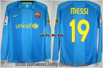 07/08 Barcelona Away L/S No.19 Messi Player Issue (SOLD OUT)