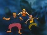 배의 무덤에서 후크 선장과 재회 ピーターパンの冒険 피터팬의 모험 復活フック船長! 空飛ぶ海賊船建造計画 제26화