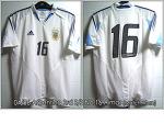 04/06 Argentina 3rd S/S No.16 Aimar - Match Worn