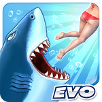 아케이드:: Hungry Shark Evolution 헝그리샤크 모바일 게임!