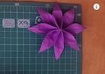 종이접기 꽃