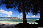 [세이셸 여행] 앙스수스다정 가는 도중에 보이는 바다풍경
