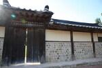 예산의 화순옹주 홍문과 백송공원