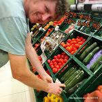 남편이 재치있게 소개하는 스페인 마트의 토마토