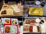 도쿄여행, 3개의 항공사 기내식 비교하다