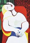 The Dream *23cm x 32.5cm 지클레이 프린트(Ed. 310/500) *액자없음* - 파블로 피카소