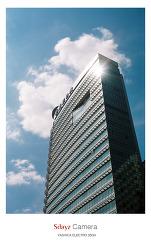 [Yashica 35GX] 청계천 광장 동아일보 빌딩