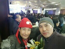 한국산원초산삼협회 강원지사 활동 사진