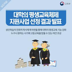 대학의 평생교육체제 지원사업 선정 결과 발표