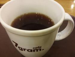 Cafe 7gram.에서 아메리카노 한잔
