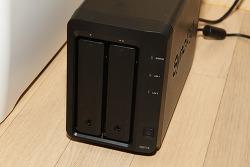 시놀로지 DS715 후기 2베이 기가비트 지원 NAS