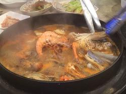 [맛집] 대전 가마솥요리집 - 가마솥에서 펄펄 끓이는 해물요리