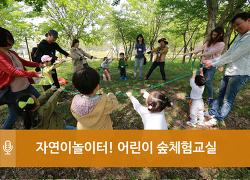 시민의 숲에서 엄마랑 아빠랑 꼼지락 꼼지락 - 광주 어린이 숲체험교실