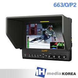 [I-ON] 663/O/P2 7 inch Preview Monitor (아이온, 릴리풋, lilliput, 7인치, 프리뷰모니터, 피킹, Peaking, 광시야각, 1280x800, IPS패널, audio level meter, 오디오레벨미터, waveform, vectorscope)