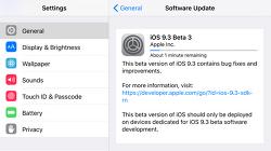 iOS 9.3 Beta 3 IPSW 다운로드 링크 및 업데이트 방법(OTA 포함)