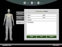 의료기기 화면 UI