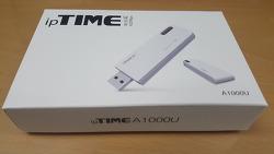 ipTIME : GiGa USB 무선 랜카드 A1000U!