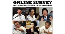 필리핀선거 > 필리핀 대통령 선거를 앞두고, 누가 필리핀의 대통령이 될 것인가?