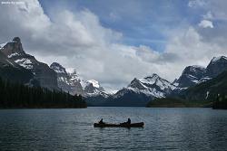 [캐나다 로키 여행] 세계에서 2번째로 큰 빙하호, 말린호수