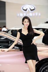 2017 서울모터쇼 인피니티의 이쁜 은빈 님 (7-PICS)