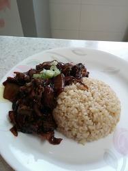 어전요리: 짜장밥