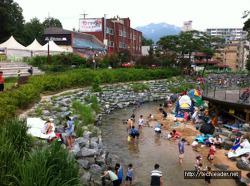 도봉산 계곡 : 가족끼리 가볍게 주말나들이 (계곡 물놀이 피서여행)