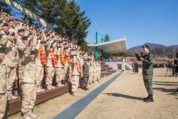 """[육군] """"열사의 땅에서 국위 선양하겠습니다"""