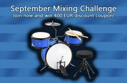 믹싱 콘테스트 - 2nd Mixing Challenge - Crapdrums : Melda Production ( 2016년 9월 20일 마감 )