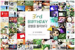 3rd' Birthday - 광블이 세 살 되다.