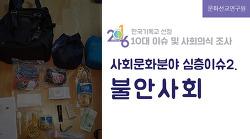 2016년 사회문화계 10대 이슈 - 심층이슈2. 불안사회