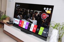 거실 인테리어의 중심! 2016 LG OLED UHD TV 디자인과 화질 경쟁력.