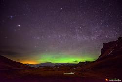 아이슬란드의 오로라