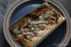 1인용 피자 시대 오뚜기 냉동피자 맛보니