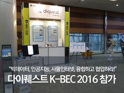 다이퀘스트, K-BEC 2016 참가