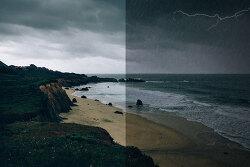 포토샵 초보 강좌 비 오는 효과 (Photoshop CS6 Rain Effect Tutorial )