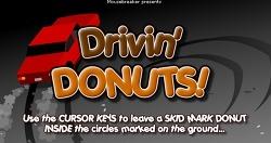 도넛 드리프트 게임 - Drivin DONUTS