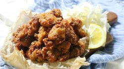 술안주로도, 밥반찬으로도 좋은 치킨 가라아게 만들기 [동영상레시피]