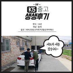저신용장기렌트카 k5 세종 출고 후기 ^^