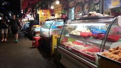 의정부 제일시장내 의정부 통닭 맛집들