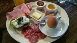 (오스트리아) # 비엔나에서 먹은 두번째  아침식사