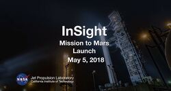 InSight Mission to Mars Launch