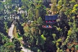태국 치앙마이 매땡의 숲속 테라스 카페 도이 땡 커피 / DOI TAENG COFFEE