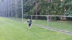 축구를 좋아하는 네살아이