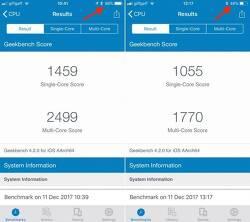 애플 - iOS11은 배터리 잔량에 따라 CPU 클럭 속도를 조절