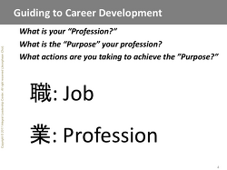Guiding to Career Development for the Millenial.